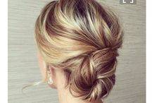 Wedding Hairstyle Ideas / Hairstyle suggestions for your wedding day.