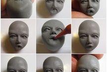 Modelagem de caras etc