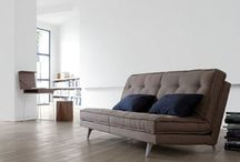 Ligne Roset 'Sofa Beds' / For many, the Ligne Roset brand is synonymous with luxury, and has come to symbolise an elegant way of life. The Roset Group is distinguished from other manufacturers by its tradition of close collaboration with both established and emerging designers. Matching its deeply-held belief in design with investment and technical innovation, it possesses the knowledge and ability to build and consolidate a worldwide distribution network.
