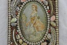Antique Seashell Art