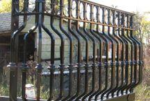 balcony railings / by Lenore Caffey