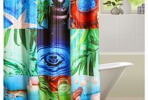 Digital printed shower curtains / Take your bathing experience from mediocre to lavish with luxury shower curtains, as you get to feel the blissful rush of water. See how the enthralling aura of pure fresh retreat takes you by surprise, reemerged with vivid graphical designs. Spruce up your shower section enclosing it with amazing Floral & Luxury shower curtains with striking prints.