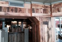 Fratellis, Belfast / We used our barn oak to create cladding for this Italian Restaurant in Belfast city center.