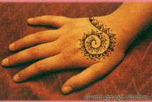 Henna/ Mehndi / Techniques, How to and patterns I like