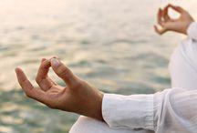 Yoga and meditation / Maakt mijn lichaam soepel, mijn hart zacht en mijn hoofd leeg.