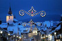 Праздничные огни / Весь мир готовится к празднованию Нового Года и Рождества. Улицы городов во всем мире дышат праздничным настроением…