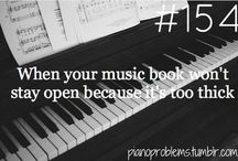 Piano problems... / by Elise Poulson