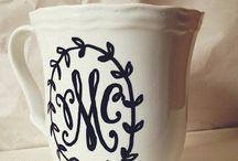 Coffee cups☕️❤️ / by Melanie Williams