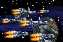 Spaceship Art