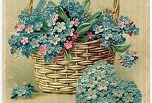 картинки цветочные корзинки