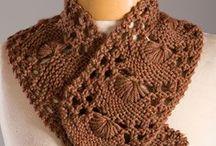gulere tricotate si caciuli