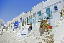 Cyclades islands / The most touristic group of Greek islands.
