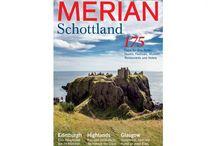 Schottland - Fototapete Merian / Merian Bildservice zeigt Motive, die als Fototapete gedruckt werden können. Inspirierende Raumbilder geben den Fototapeten einen Extra-schliff. Schottland - eine Welt voller Magie