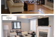Furniture arrangements