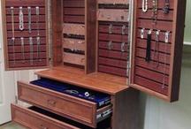 Jewelry Cabinets / by Jodi Sutton