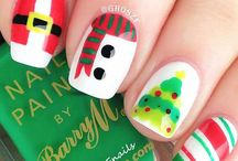 Christmas Nail Art Ideas And Designs