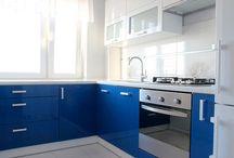 Kuchnie blokowe / Meble kuchenne na wymiar do małych kuchni w bloku.