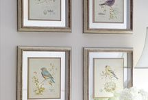 Wall Art formal living areas / by Christina Dodd