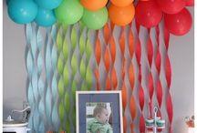 Festa Compleanno Bimbo Addobbi