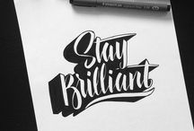 Typography/Lettering/Calligraphy