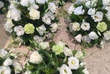 Wedding Flowers by Alyssiums On Pirie / A creative mixture of wedding flowers made by the talented team at Alyssiums.