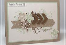 Handmade Cards- SU- Petite Petals & Punch / SU punch & stamp set- occasions 2014