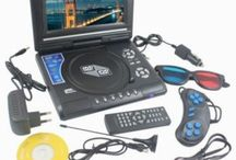 7.8 3D Portable Lcd Dvd Player Gaming Console Fm Radio Mp3 Player Sd Usb Reader