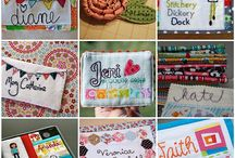 Quilted Name Tags / by Eileen McNabb