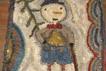 Hooking and Punching- rugs, that is!! / by Sue Staum