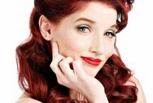 PIN UP HAIRSTYLES / PIN UP HAIRSTYLES