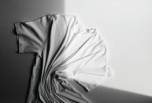 photography: abstract fashion stills / creative modern abstract composition of clothes and accessories without models