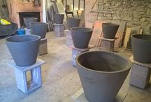 The creation of pottery vase / Now we show you all the creation stages of Vasi Festonati. Massimo Carbone's production is completely handmade with ancient craft techniques