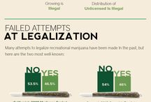 Infographs About Marijuana / informational graphs. / by Dank Tank