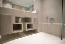 Baños / Bathrooms By Cement Design / Bathrooms developed by Cement Design / Baños desarrollados por Cement Design