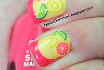 Nail Art - Summer Theme