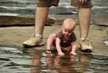 Kid love water