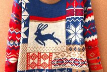 Cheesy Christmas sweaters