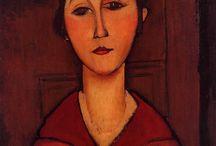 Amedeo Modigliani - www.evapartcafe.com / Amedeo Clemente Modigliani, född 12 juli 1884 i Livorno, Italien, död 24 januari 1920 i Paris, Frankrike, var en italiensk målare, skulptör och tecknare. Wikipedia Född: 12 juli 1884, Livorno, Italien Död: 24 januari 1920, Paris, Frankrike Gift med: Jeanne Hébuterne (från 1917) Barn: Jeanne Modigliani Influenser: Pablo Picasso, Paul Cézanne, Henri de Toulouse-Lautrec