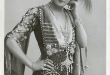 Edwardian & directoire era. 1890's - 1919 fashion and accessories