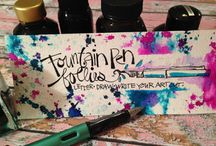 FOUNTAIN PENS AND INKLINGS