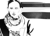 Mó Tèr / Fashion Illustration