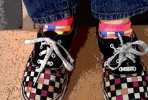 CRES Kids in Cool Footwear. / Fun photos of my students' footwear.