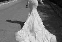 Wedding dress / fashion, dress, wedding, bride
