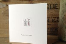 Happy Birthday / Greetings cards that are blank inside for your own message