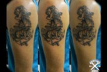 Dark Line Tattoo / Os mais variados tipos de trabalhos feitos pelo tatuador, professor e desenhista Marcos Donha !