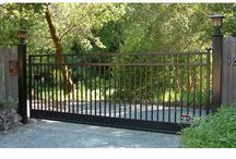 Bar Grill Styled Gates / Examples of different designs from others. Automatic gates. - Like One? - Ask if we are able to make it for you.