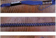 tutorial collar trenzado de hilo