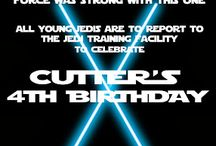 Cullen's 4th Bday Star Wars Event