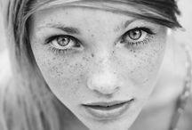 Black & White Portrait, Women / Black & White Portrait, Women