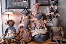 Black Prim Dolls
